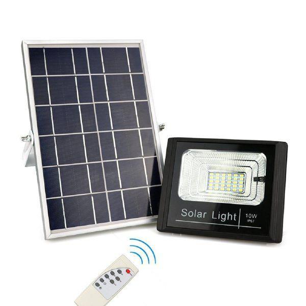 SQI. 10W LED Solar Floodlight Waterproof