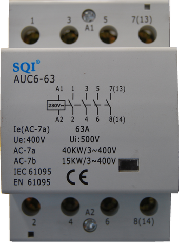 AC Contactor Din 4P 63 amps