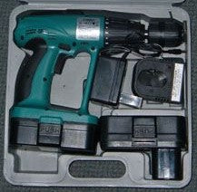 24 Volts Cordless Drill + Hammer action