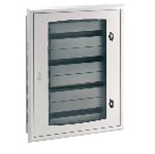 96 Way IP40 Flush Enclosure with Transparent Door