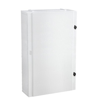 96 WAY IP40 SURFACE ENCLOSURE WITH OPAQUE DOOR