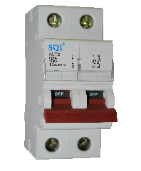Isolator 2P 63 amps