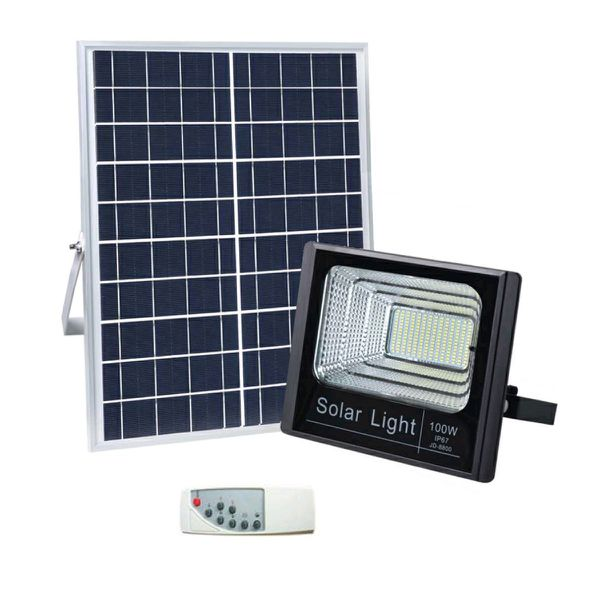 SQI. 100W LED Solar Floodlight Waterproof