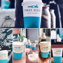Three Seeds Paper Cups