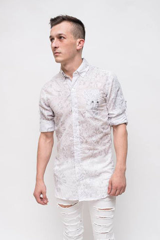 PRINTED SHIRT - REVERSE WORLD