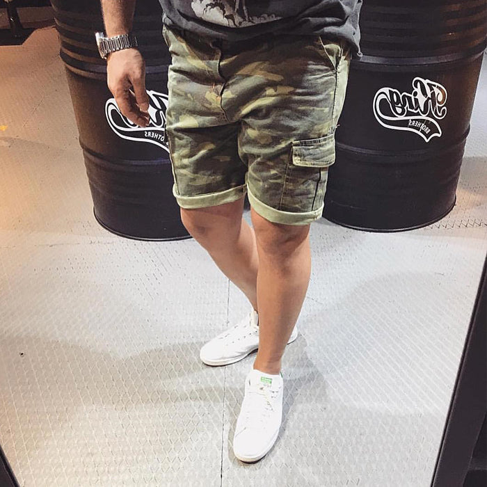 CAMOUFLAGE SHORTS - REVERSE WORLD