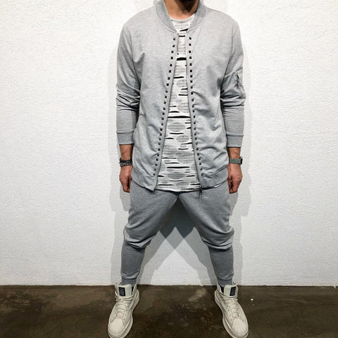 STYLISH TRACKSUIT (Tousers+Bomber) - REVERSE WORLD