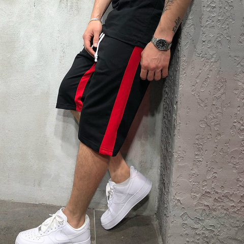 BLACK SHORTS - REVERSE WORLD