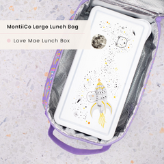 Love Mae Lunchbox and Montiico Insulated Lunchbag
