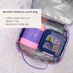 Little Lunchbox Co Bento Two and MontiiCo Insulated Lunchbag
