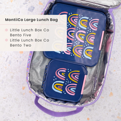 Little Lunchbox Co And MontiiCo Insulated Lunchbag