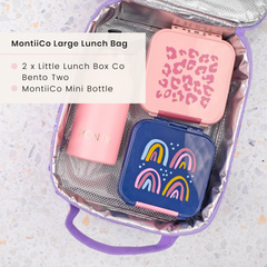 Little Lunchbox Co Lunchboxes and MontiiCo Insulated Lunchbag