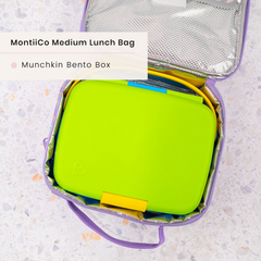 Munchin Lunchbox and MontiiCo Insulated Lunchbag