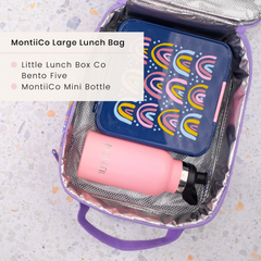 Little Lunchbox Co Bento Five and MontiiCo Insulated Lunchbag