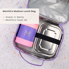 Stainless Steel Lunchbox and MontiiCo Insulated Food Jar