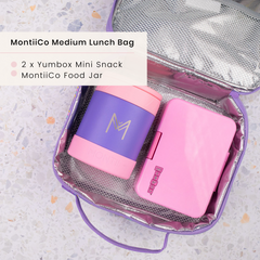 Stuck on You Lunchbox and MontiiCo Insulated Lunchbag