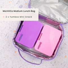 Yumbox Lunchboxes and MontiiCo Insulated Lunchbag