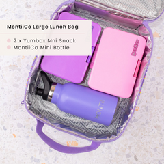 Yumbox mini Lunchbox and MontiiCo Insulated Lunchbag