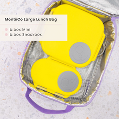 B.box Lunchboxes and MontiiCo Lunch Bag