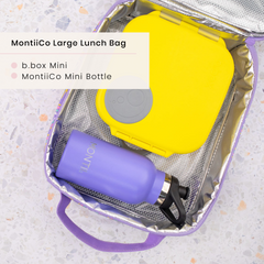 B.box Lunchbox and MontiiCo Lunchbag