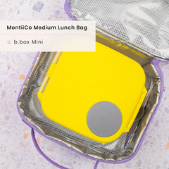 B.box Mini Lunchbox and MontiiCo Insulated Lunchbag
