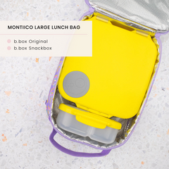 B.box lunchbox and MontiiCo Lunch bag