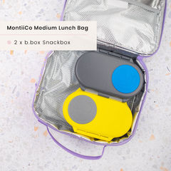 B.box Snack Boxes and MontiiCo Insulated Lunchbag