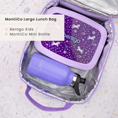 Bentgo Lunchbox and MontiiCo lunchbag
