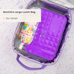 GoSmall Lunchbox and MontiiCo lunchbag