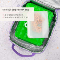 Go Green Lunchbox and MontiiCo Lunchbag