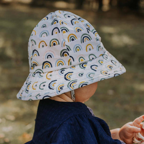 Arlo Rainbow Toddler Bucket Hat as sold by Scarlett Tippy Toes Bedhead