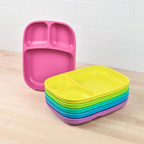 Replay Recycled Large Divided Plastic Plates as sold by Scarlett Tippy Toes