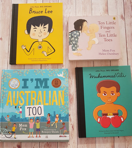 Collection of Children's Books featuring Diverse & Inclusive Characters