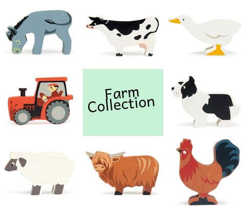 Tender Leaf Farm Animals Collection as sol by Scarlett Tippy Toes