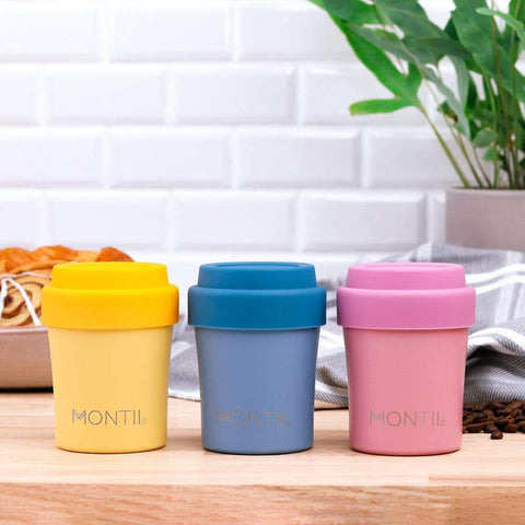 MontiiCo Mini Coffee Cups for Hot Chocolate & Babychio as sold by Scarlett Tippy Toes