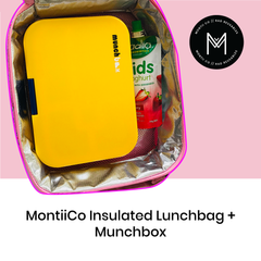 MontiiCo Insulated Lunch Bag with Munchbox as sold by Scarlett Tippy Toes
