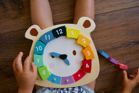 Tender Leaf Bear Clock Puzzle