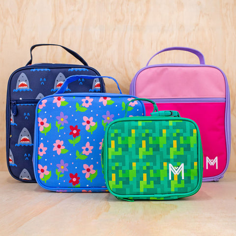 MontiiCo Insulated Lunch bags in Original, medium and mini sizes