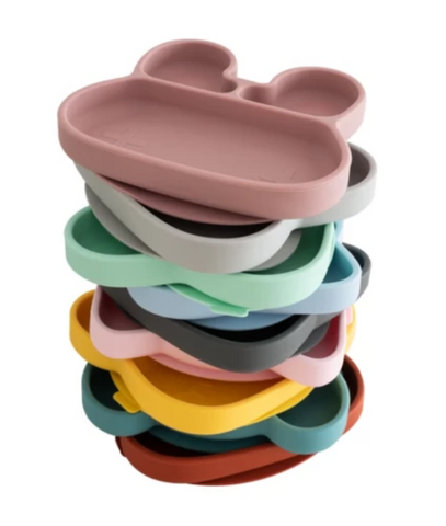 We Might be Tiny Stickie  Suction Plates as Sold by Scarlett Tippy Toes