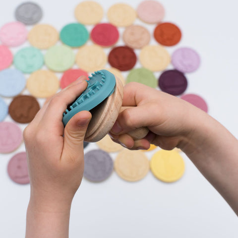 We Might be Tiny Silicone Rubber Stamps & Cookie Cutters