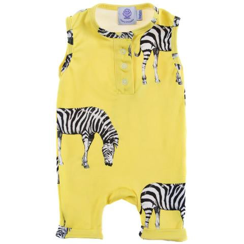 Cheeky Chickadee Zebra Onesie as sold by Scarlett Tippy Toes