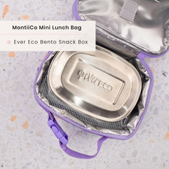 Ever Eco Snack Box and MontiiCo Insulated Lunch Bag