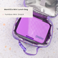 Yumbox Lunchbox and MontiiCo Insulated Mini Lunchbag