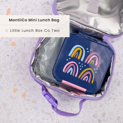 Little Lunchbox Co Bento Two and MontiiCo Mini Insulated Lunchbag