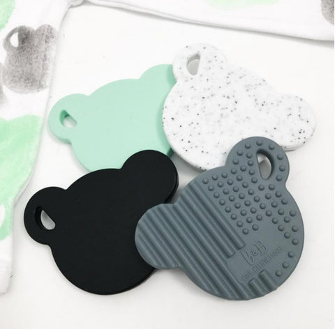 One.Chew.Three Bear Silicone Teether
