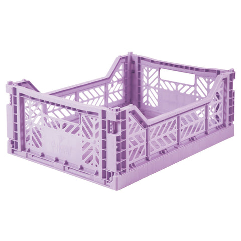 Ay-Kasa Lilliemor Midi Foldable Crate in Orchid Purple (Medium Size)