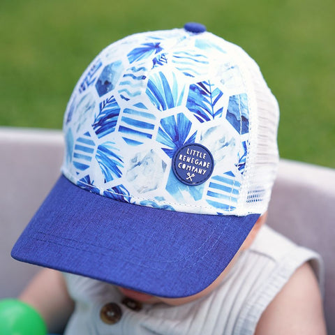 Little Renegade Company Azure Trucker Cap