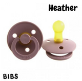 BIBS Dummy Size 2 - Heather (Single or Twin Pack)