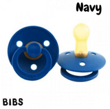 BIBS Dummy Size 3 - Navy (Twin Pack)