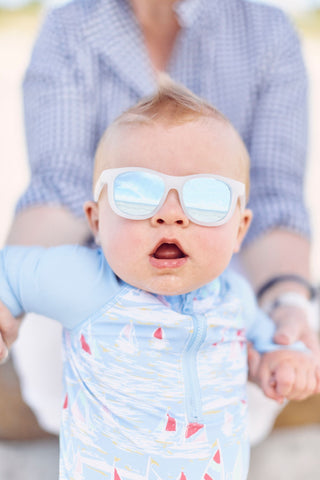 Babiators Blue Series The Icebreaker Polarised Navigator Sunglasses (Suitable from Birth until 5 years old)